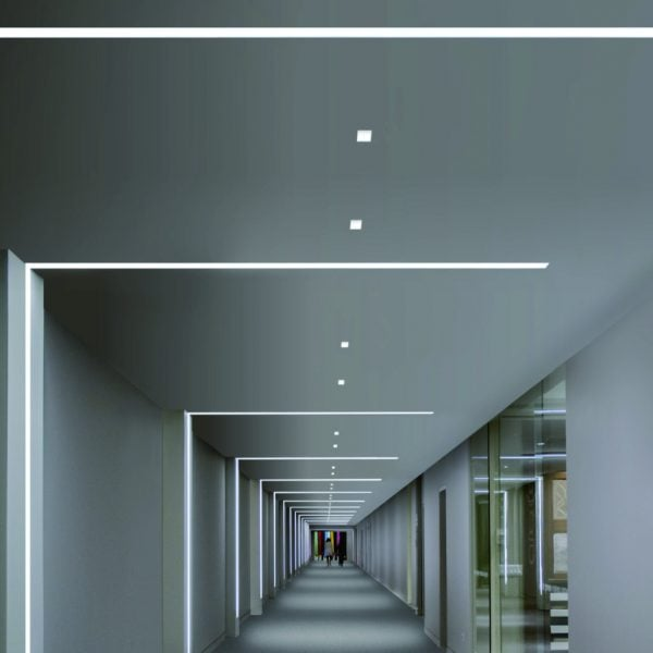 Led Strip Profiel Plafond Trimless Trimless Led Inbouwspots