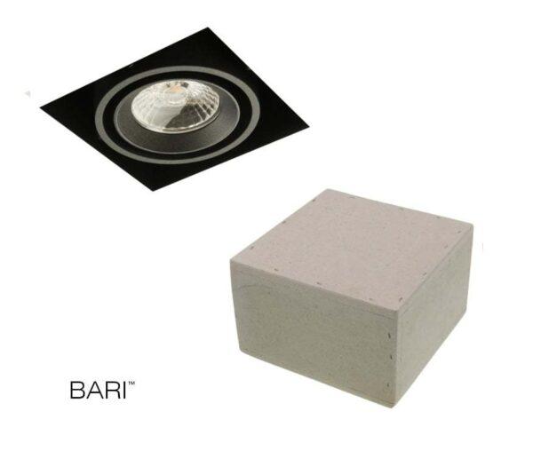 Super LED Trimless beton spot voor in het beton - Trimless LED inbouwspots LL15
