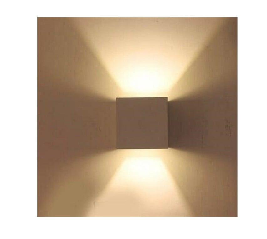Uitzonderlijk Wandlamp LED STRAK wit Cube dimbaar 10cm - Trimless LED inbouwspots WX54